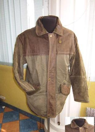 Большая утеплённая мужская куртка rosner. германия. лот 769
