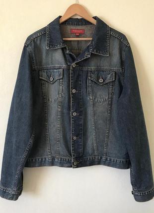В наличии - джинсовая куртка *river island* р. m