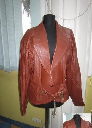 Стильная женская кожаная куртка - косуха. германия. лот 771