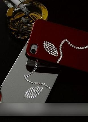 Чехол leshine dreamplus swarovski iphone 4 4s