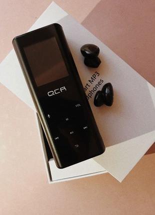 QCR Q1 Bluetooth наушники+ многофункциональный MP3-плеер