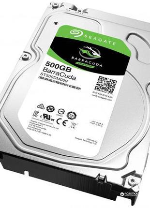 Жесткий диск Seagate BarraCuda HDD 500GB 7200rpm 32MB