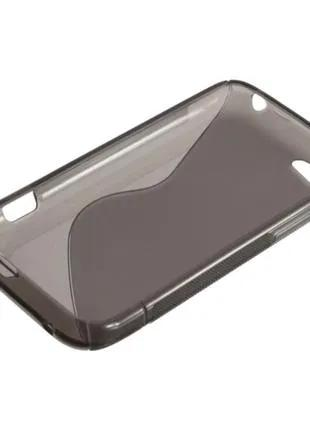 S line TPU стильный силиконовый чехол HTC One V
