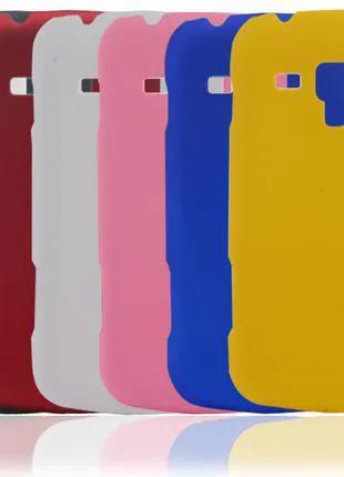 Пластмассовый чехол Samsung Galaxy S Duos S7562