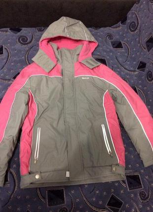 Лыжная детская  куртка мембранная  reebok hipora