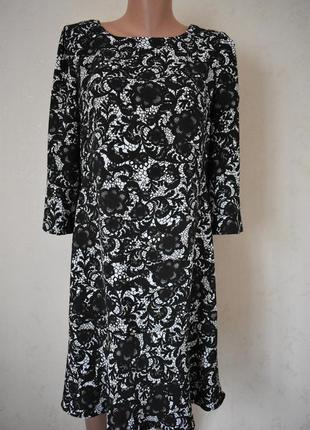 Красивое платье с принтом next