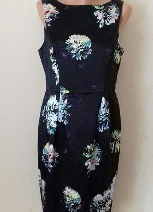 Элегантное красивое платье с принтом f&f