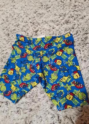 Плавки, шорты пляжные на 2-3 года
