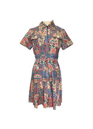 Платье manoush 36 мануш оригинал цветное
