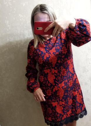 Шёлковое и лёгкое платье р. 50-52
