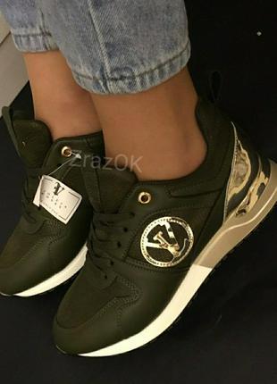 Хаки кроссовки ботинки слипоны кеды