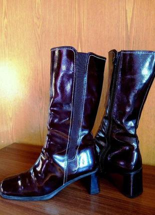 Качественные сапоги германия демисезон 👢 средний каблук, голен...