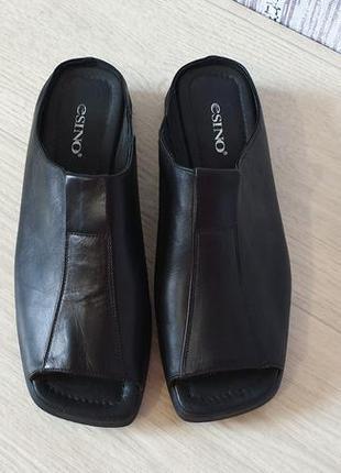 Esino кожаные женские сандалии. италия.