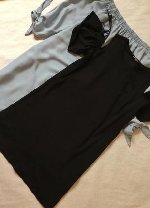 Платье футболка с открытыми плечами river island размер 10/12