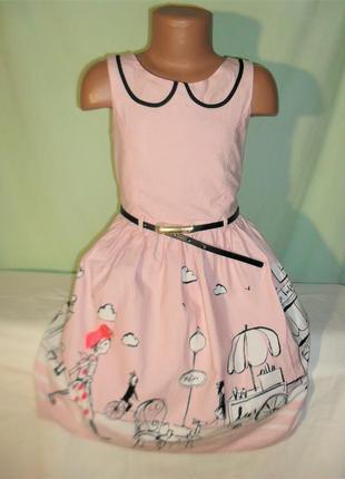 Платье на 8лет рост 128