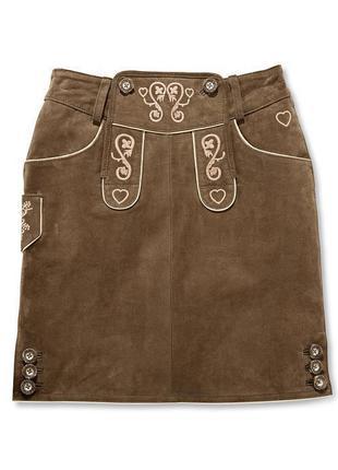 Скидки!!! натуральная замшевая юбка