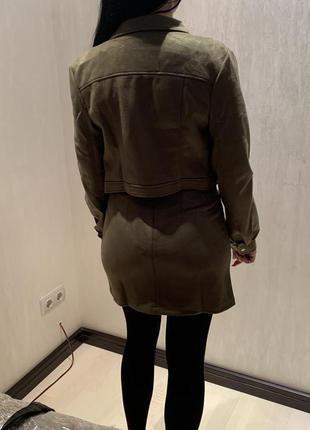 Женский костюм юбка + пиджак