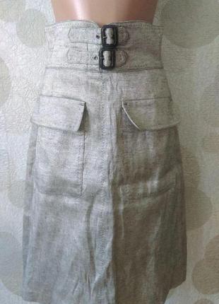 Изумительная юбка миди с карманами