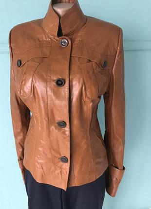 Куртка демисезонная кожа турция