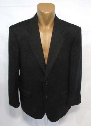 Пиджак marks&spencer, 50, шерсть-кашемир, качество, как новый