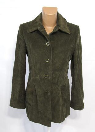 Куртка вельветовая m&s, 12 (40), коричневая, отл сост!