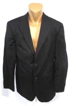 Пиджак tommy hilfiger, 50, шерсть, стильный, как новый!
