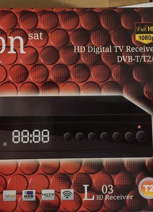 Т2 Цифровой эфирный приемник Lion sat 03