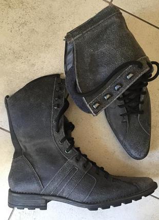 Кожаные ботинки на узкую стопу *update* 5/38 р.