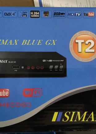 SIMAX BLUE IPTV DVB-T2 цифровой эфирный приемник