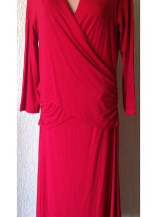 Эффектное платье *artigiano* made in italy 12 р.