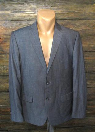 Пиджак серый charles vogele, 26 (l), как новый!