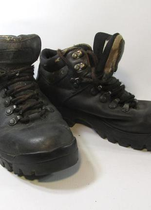 Ботинки peter storm, vibram, 39 (25.5 см), кожа, сл. носки, уц...