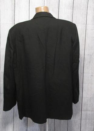 Пиджак черный distinctive, 50 (l), черный, новый!