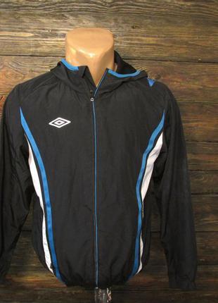 Куртка спортивная, ветровка подростковая umbro, 152 см, (пару ...