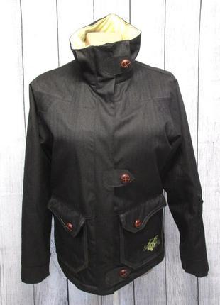 Куртка теплая качественная sun valley, s, черная, стильная, от...