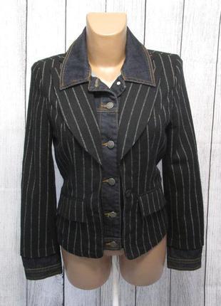 Пиджак стильный geisha, s (10), качество, как новый!