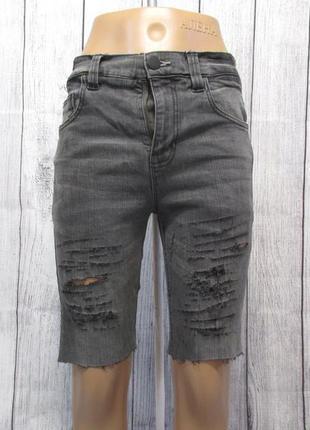 Шорты джинсовые next, skinny, 13 лет (158 см), винтаж, для дев...