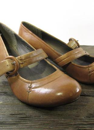 Туфли стильные footglove, 6 (39, 25.5 см), кожа, отл сост!