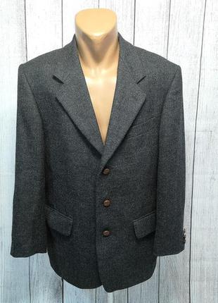 Пиджак стильный, шерстяной adolfo trabaldo, 48 (m), как новый!