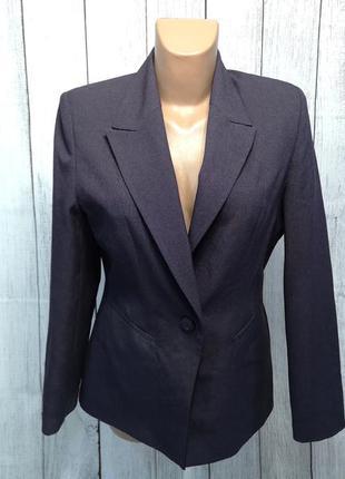 Пиджак фиолетовый nl collection, 12 (m), как новый!