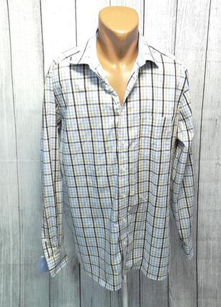 Рубашка стильная walbusch, 44 (xl), cotton, как новая!