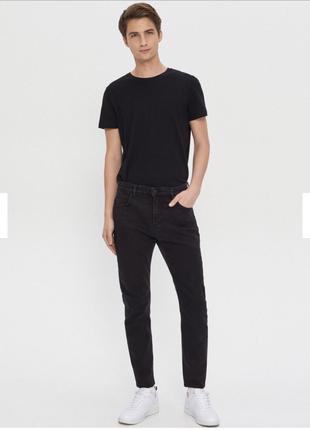 Чорні джинси carrot від Ноuse