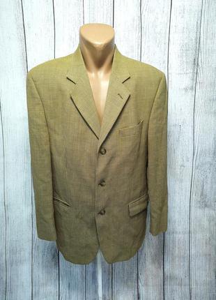 Пиджак стильный berwin&berwin, r42 (l), wool, как новый!