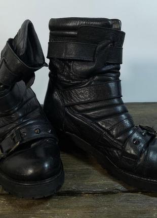 Полусапожки кожаные, 5 (38, 24.5 см), made in spain, эксклюзив...
