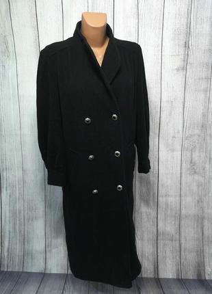 Пальто стильное nuage, шерсть-кашемир, 10 (s), длинное, качест...