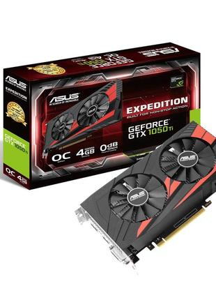 Asus PCI-Ex GeForce GTX 1050 Ti Expedition 4GB GDDR5