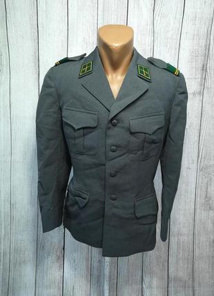 Пиджак китель lang bern, серый, отл сост! (разм м)