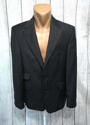 Пиджак стильный next, woolmark, как новый!