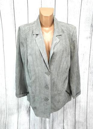 Пиджак стильный bexley, серый, качественный, как новый!