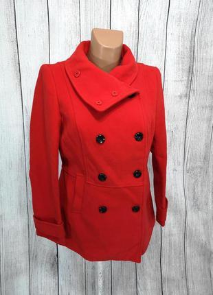 Пальто стильное красное cashe cashe